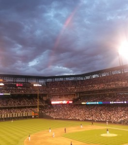 No rain at the Rockies game!