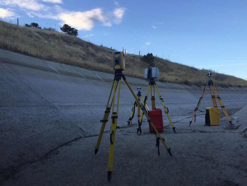 3D Laser Scanning for land surveying and mapping