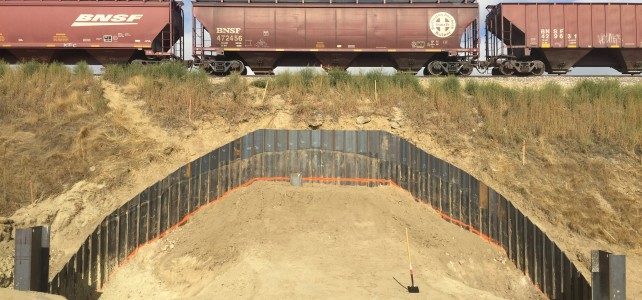 Fossil Creek Pedestrian Tunnel, work begins